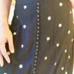 Jupe noire pailletée Goa